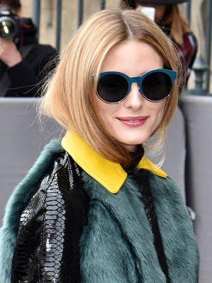 Of Course Olivia Palermo Found a Fresh Way to Tie a Scarf