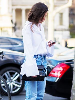 Every Working Woman Should Try This Shirt Trend