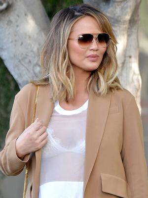 Kim Kardashian Threw Chrissy Teigen a Baby Shower—See the Stylish Pics
