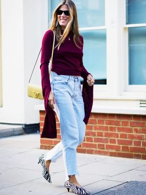 Meet the V-Neck Shoe: The Most Slimming Style for Any Legs, Anywhere