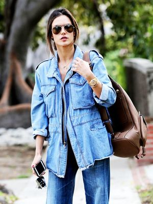 Is This the New Way to Wear Denim-on-Denim?