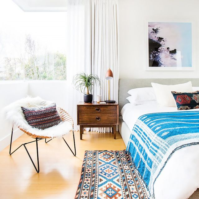 Before and After: A Bright and Airy L.A. Home With Major Boho Vibes