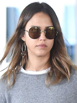 The Cashmere Sweater Jessica Alba Wears Everywhere