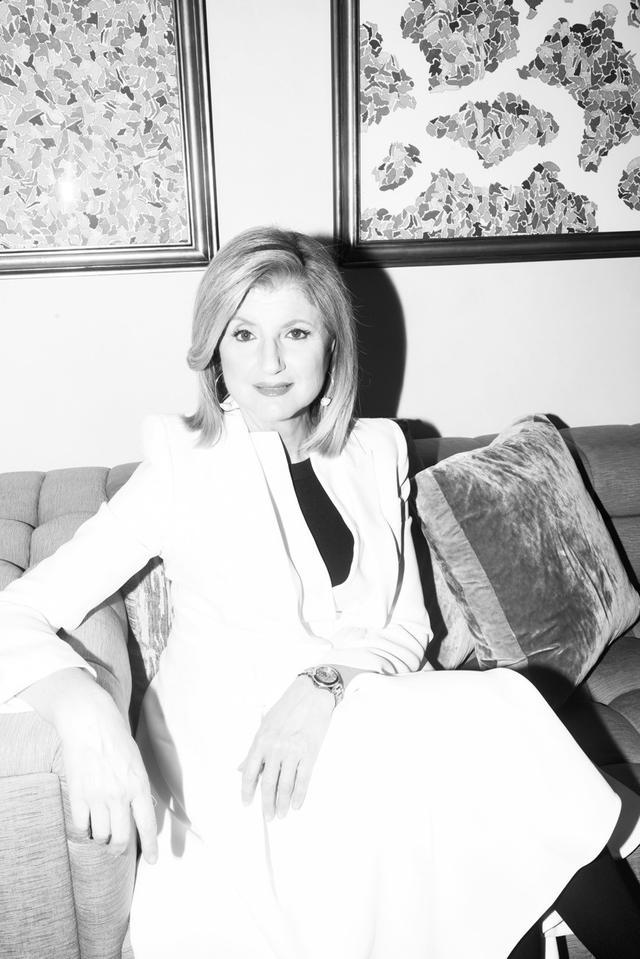 Arianna Huffington, Editor in Chief, AOL Huffington Post Media Group