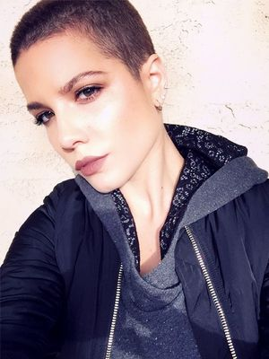 Exclusive: Halsey on Shaved Heads, Gray Lipstick, and Why She's Not a Cliché