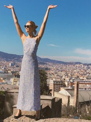You'll Wear Karlie Kloss's Dress to Every Summer Wedding
