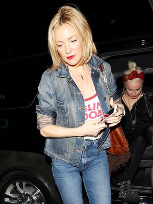 What to Wear to a Concert: Kate Hudson Edition