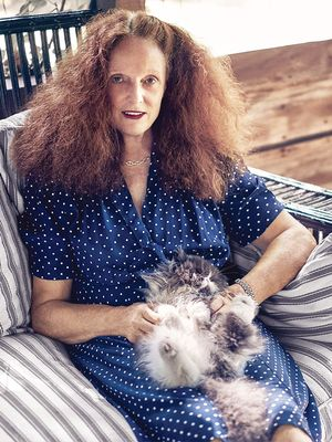 Grace Coddington's New Fragrance Is Shaped Like a Cat