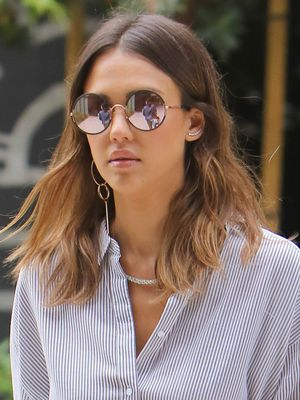 What Jessica Alba Wears to the Office