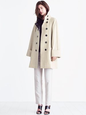 Love, Want, Need: A-Line by Jigsaw's Luxe Pea Coat