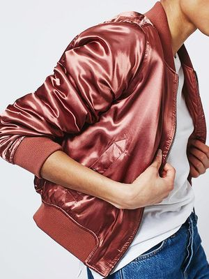 Love, Want, Need: Topshop's High-Shine Bomber Jacket