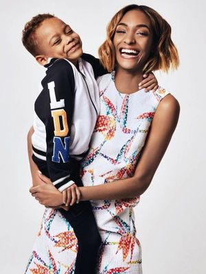 Jourdan Dunn and Her Son Star in the Cutest Spread