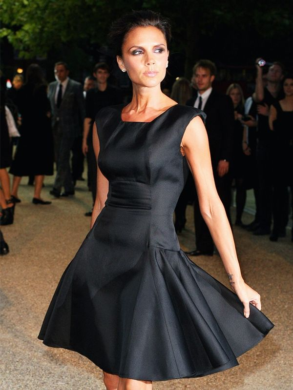 Victoria Beckham in Victoria Beckham at the Burberry Prorsum S/S 10 show, September 2009