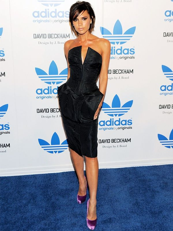 Victoria Beckham at an Adidas launch party, September 2009