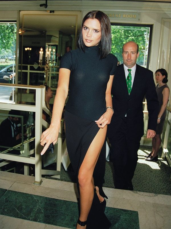 Victoria Beckham at the Ivor Novello Awards, May 1997
