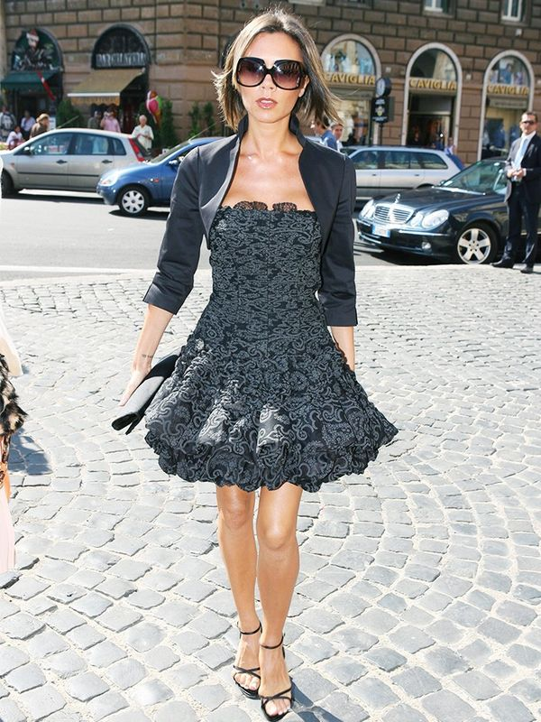 Victoria Beckham in Rome, September 2006