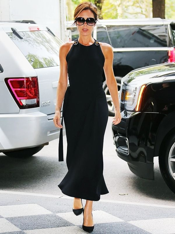 Victoria Beckham wearing Victoria Beckham in New York City, September 2015