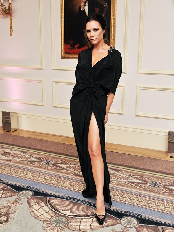 Victoria Beckham in Victoria Beckham at the British Fashion Awards, December 2010