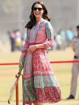 All the Pretty Dresses Kate Middleton Has Worn in India