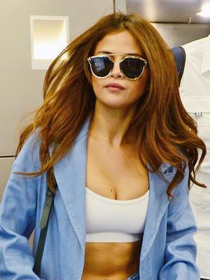 How Selena Gomez Made a Sports Bra Look High Fashion