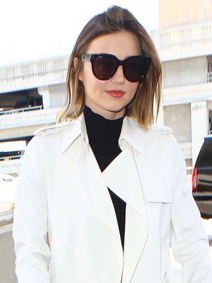 How Miranda Kerr Made Leggings Look Fancy at the Airport