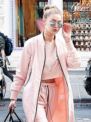 Gigi Hadid Just Wore 2 Major Trends at Once in NYC