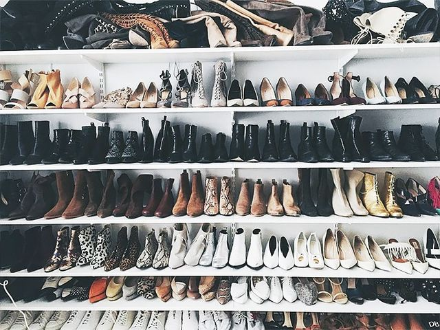 Sort Your Shoes by Style and Color