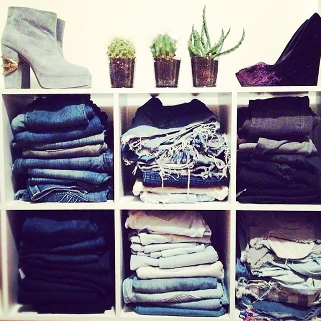 Organize Your Denim by Type