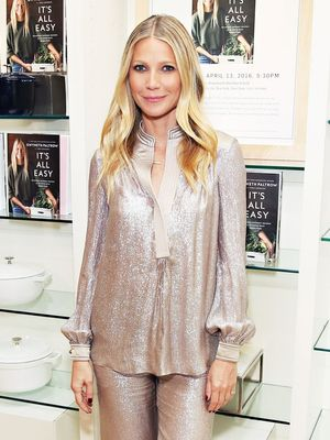 Gwyneth Paltrow Wore a Matching Sequined Set, Looked as Chic as Ever