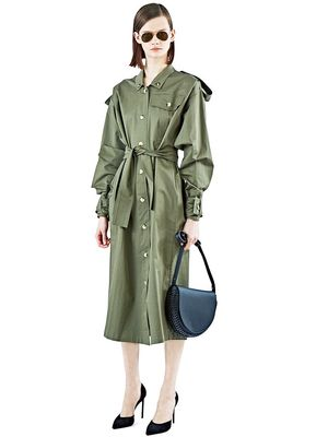 Love, Want, Need: Anne Sofie Madsen's Cool Trench Coat