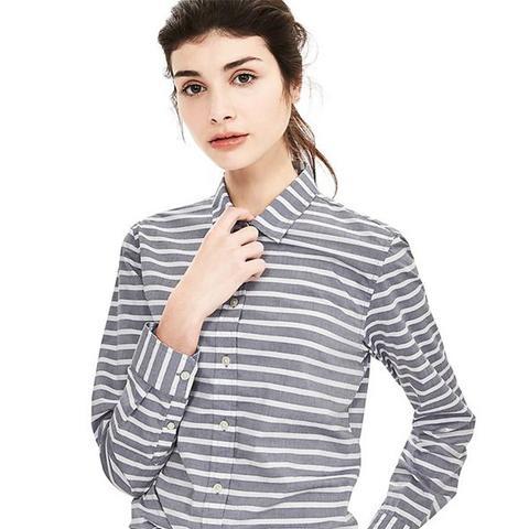 Dillon-Fit Striped Shirt