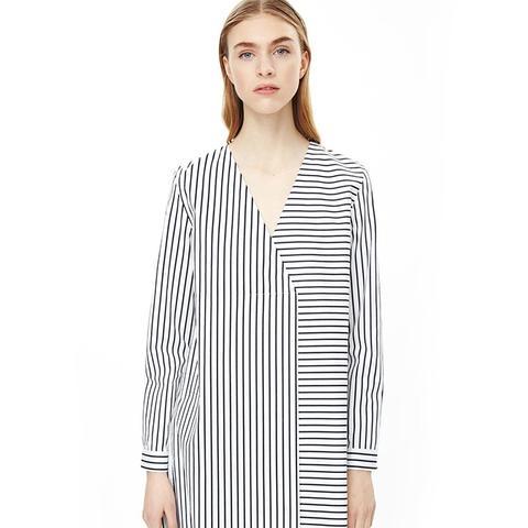 Long Oversized Stripe Top