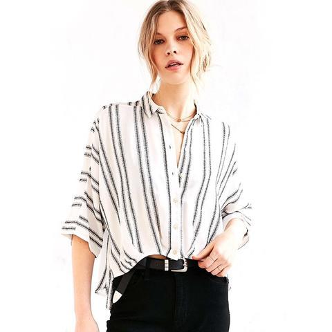 Bombero Striped Button-Down Shirt