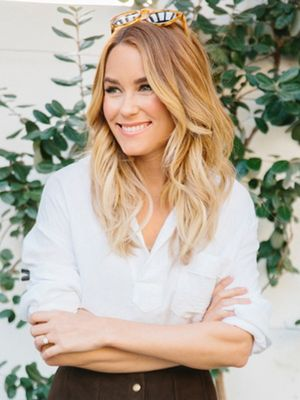Lauren Conrad's Tip for Adding Richness to an Outfit