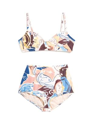 Must-Have: An Art-Inspired Swim Set