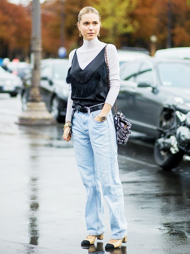 The Prettiest Layering Combination Everyone's Wearing