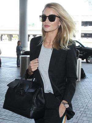 The Real Way Rosie Huntington-Whiteley Looks Great at the Airport
