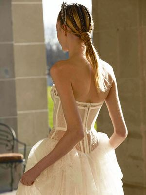 The Daring Wedding Dress Trend You're About to See Everywhere