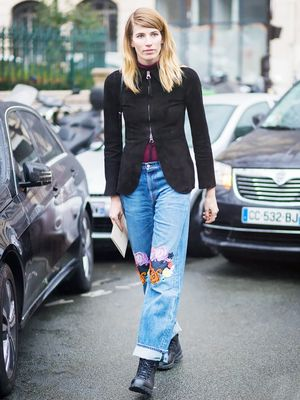 Alert: This Is the Denim Trend You're About to See Everywhere