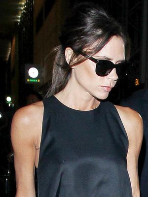 Victoria Beckham Wore Flats to the Airport and Has Never Looked Chicer