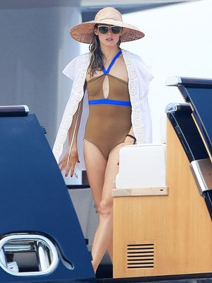 The Best Celebrity Vacation Looks, Period