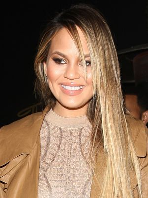 What Chrissy Teigen Wore on Her First Date Night After Baby Luna's Arrival