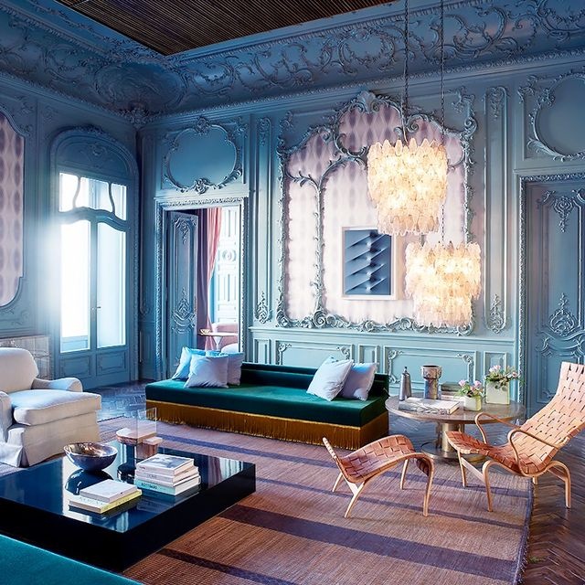 Inside the Decadent Home of a High-End Fashion Designer