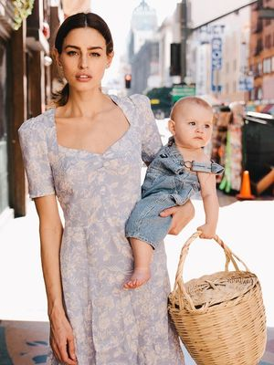 Meet Reformation's Breastfeeding-Friendly Dress