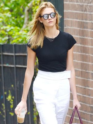 Sneakers and Slacks: A Lesson in Power Dressing From Karlie Kloss