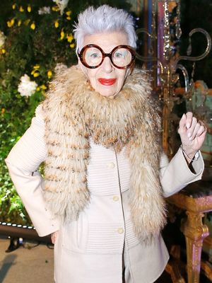 Iris Apfel Reveals Why She Wears Her Signature Oversize Glasses