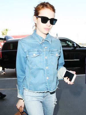 Emma Roberts Just Wore the Coolest Custom $59 Sneakers
