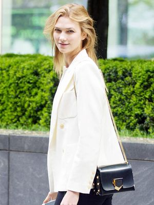 Karlie Kloss Just Pulled Off Patterned Floral Pants in the Chicest Way
