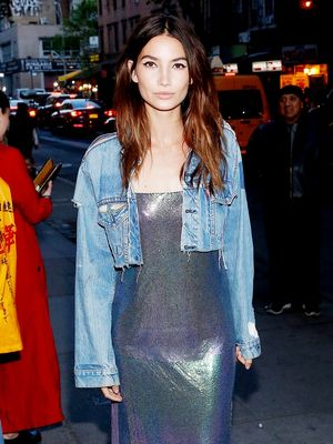 Lily Aldridge Wore the Designer Fashion Girls Are Obsessed With