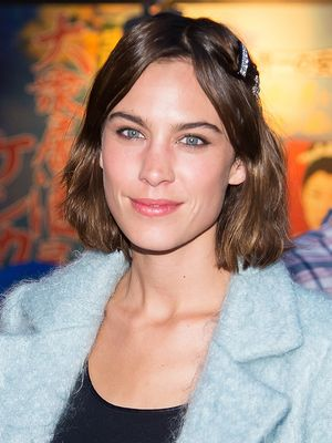 Alexa Chung Actually Made Pleather Pants Look Cool